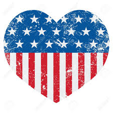 Usa Flag Vector American Flag Hearts Clipart Clipart Collection Png File Has A