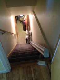 Lift Chair For Stairs Chair Lift To Basement With Room For Door At Top In Clinton Utah