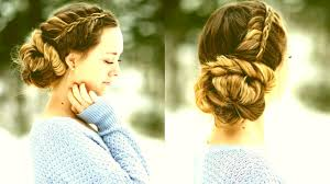 updos cute girls hairstyles youtube prom hairstyles girls stacked fishtail updo prom hairstyle cute