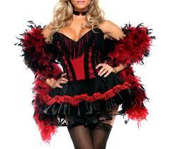 Burlesque Size Halloween Costumes Burlesque Style Western Saloon Costume Size