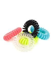 bobbles hair spiral hair toggle 5pk plastic exercise hair bobbles sweaty betty