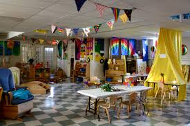 a learning space filled with character preschool classroom