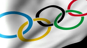 Olimpics Flag Olympic Flag Flag Waving Motion Background Videoblocks
