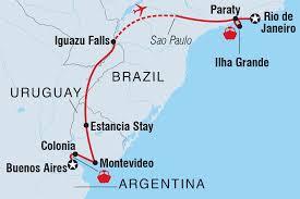 Map Of Uruguay Uruguay Tours U0026 Travel Intrepid Travel Us