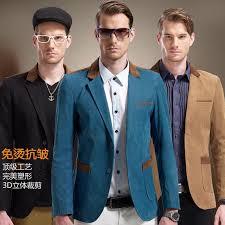 2017 brand suit jacket for men spring autumn coat korean male