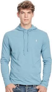 ralph lauren light blue polo ralph lauren light blue round neck hoodie sweatshirt for men