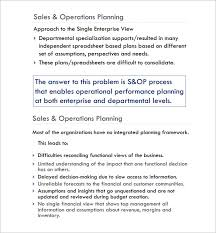 operational plan template 2017 sample operational plan template