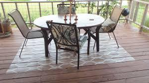 diy painted rug on porch floor hometalk