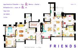 friends apartment layout 484