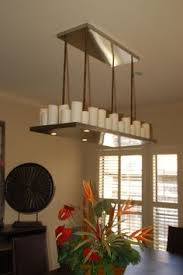 Candle Lit Chandelier Diy Candle Chandelier I Real Candles I Could Use Here But I