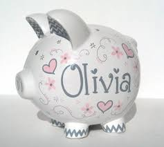 personalized baby piggy banks 58 best piggy bank images on piggy banks piglets and