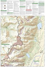 Jackson Hole Map Grand Teton National Park National Geographic Trails Illustrated
