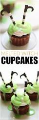 melted witch cupcakes recipe perfect food halloween parties