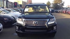 used 2015 lexus lx 570 2014 lexus lx 570 review youtube