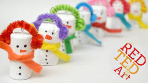 easy snowman ornament diy diy christmas ornaments recycled