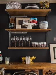 photos hgtv rustic wine bar with open shelving loversiq