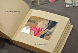 photo album paper custom books