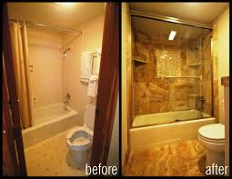 Kitchen Before And After Makeovers Shower Makeovers Before And After Kitchen U0026 Bath Ideas Amazing