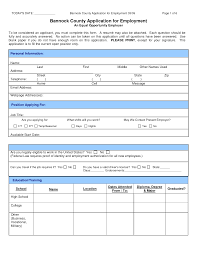 blank job application templates application for employment