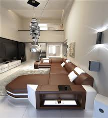 modern u shaped sofa dallas with lights