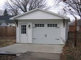 Springfield Overhead Door 16 X 22 One Car Coach House Garages