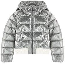 metallic down jacket verglas moncler for girls melijoe com