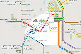 Metro Rail Houston Map by America Archives Urban Map