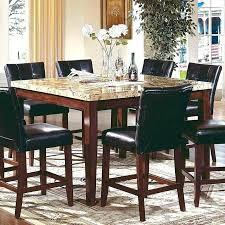 black granite top dining table set granite dining room sets black granite dining table top looks good