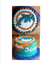miami dolphins grooms cake cakecentral com