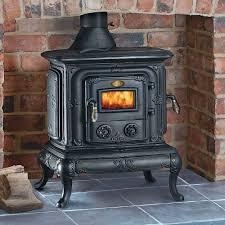 clarke parlour cast iron wood burning stove machine mart
