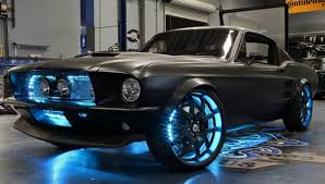 1967 blue mustang 1967 ford mustang fastback restomod black 289 auto see