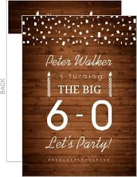 beautiful invitation card for 60th birthday 19 on personalised