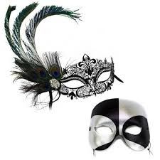 peacock masquerade mask deluxe peacock black silver masquerade masks for a