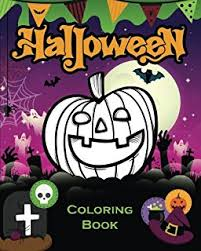 amazon halloween coloring book kids happy activity book