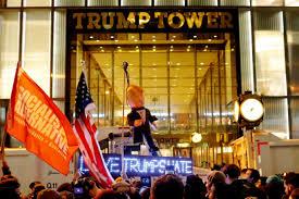 us election 2016 thousands of americans surround donald trump u0027s
