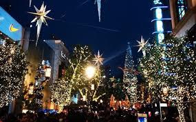 Singing Christmas Tree Lights The Grove U0027s Annual Tree Lighting Ceremony Kicks Off The Holiday