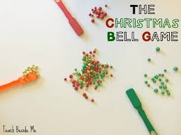 christmas party game the magnet bell game teach beside me