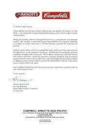 soup company recommendation letter 3
