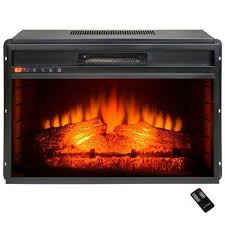 36 Electric Fireplace Insert by Akdy Electric Fireplace Inserts Fireplace Inserts The Home Depot