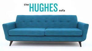 indigo leather sofa hughes leather sofa joybird