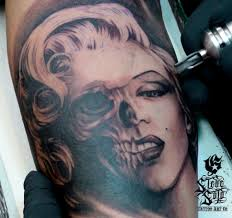 sugar skull pin up images for tatouage