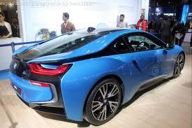 Bmw I8 Orange - auto expo 2016 by soulsteer blue plug in hybrid sports car bmw i8