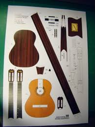 Papercraft Guitar - 14 best adhyan images on pdf paper toys and paper models