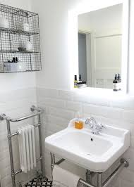 bright bathroom interior with clean want to see more pictures of joe s scandi style vintage bathroom