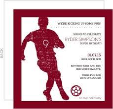 custom soccer party invitations and invites