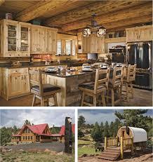 cabin kitchen ideas 24 best log cabin kitchens images on log cabin