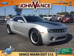 2012 chevrolet camaro ls coupe used 2012 chevrolet camaro for sale miami ok