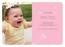 Birthday Invitation Card Template Baby Birthday Invitation Card Template