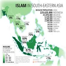 South East Asia Map Islam In Southeast Asia Exhibition Islam In Asia Diversity In