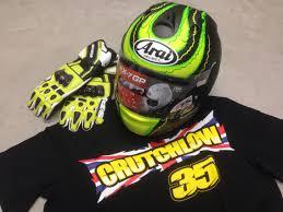 arai helmets motocross cal crutchlow kit helmet arai rx7gp gloves spidi carbo3 t shirt